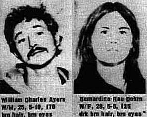 Weather Underground Bill Ayers and Bernadine Dohrn