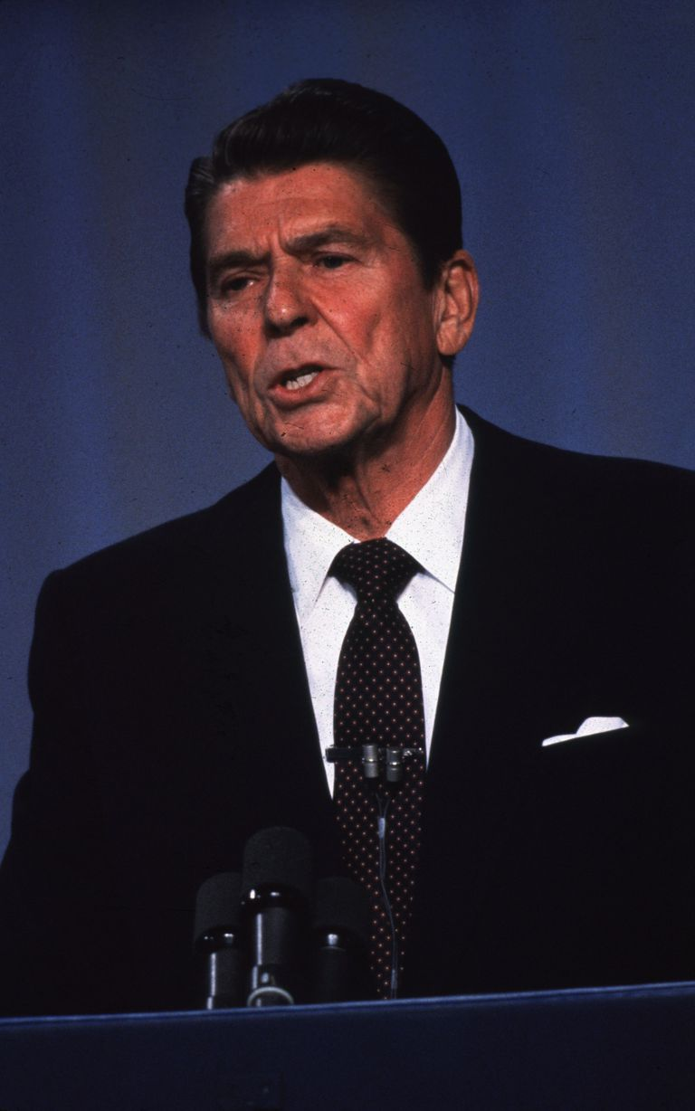 Without question the most famous politician in modern American history is the late Ronald Reagan.