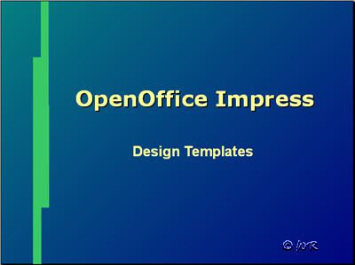 Apply slide design templates in open office impress for Openoffice impress templates free download