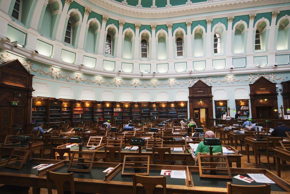 National Library, Dublin, Ireland