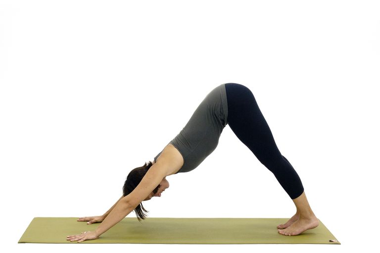 8 Standing Yoga Poses Sequence - Downward Facing Dog