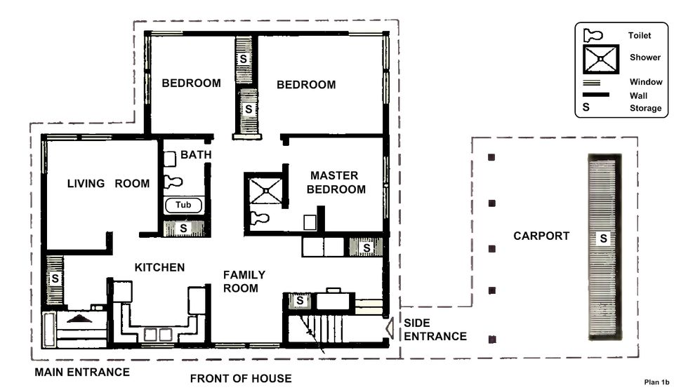 free small house plans. Free House Plan 1b Small Plans O