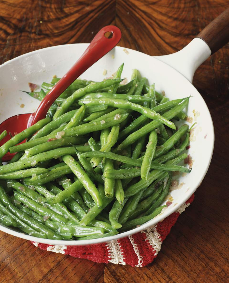 Green Beans In Wok