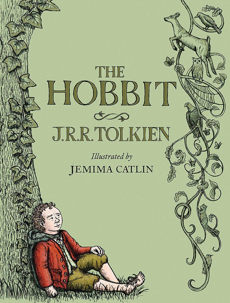 The Hobbit - Cover of Illustrated Edition