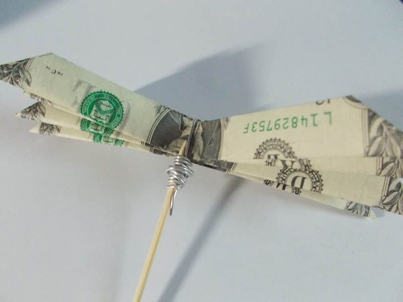 How to make a simple bouquet of origami money flowers money flower mightylinksfo Images