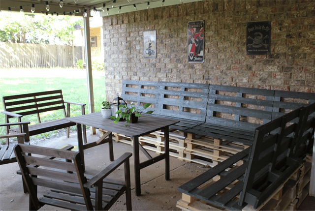 pallets as furniture. picture of pallet patio furniture pallets as