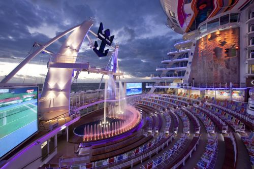 Aquatheater on Allure of the Seas.