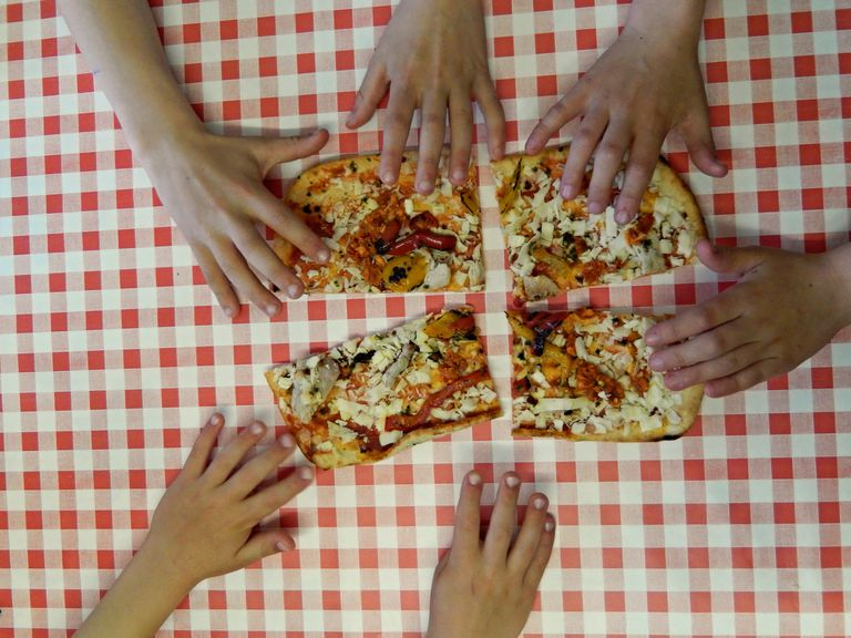 #Sharing: Friday night pizza