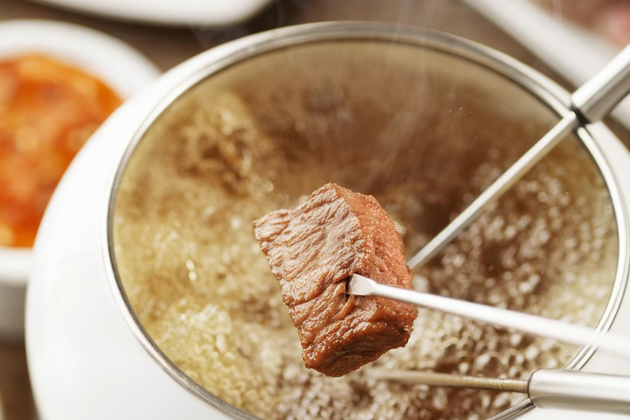 German Meat Fondue With Broth Fleischfondue Recipe
