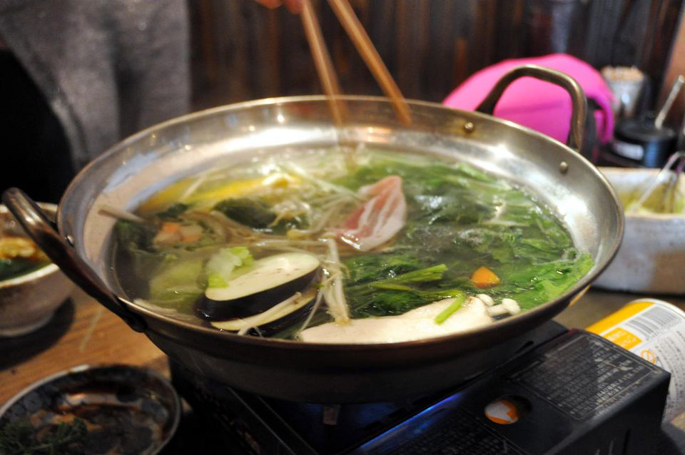 Ponzu is a dipping sauce for dishes like Shabu Shabu