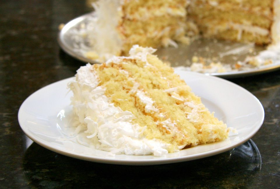 Easy Coconut Cake With Coconut Milk