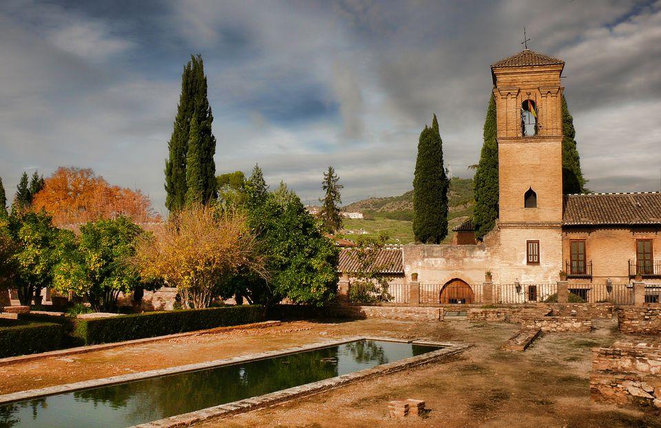 A Franciscan monestary in Granada that has been turned into a parador nacionale.