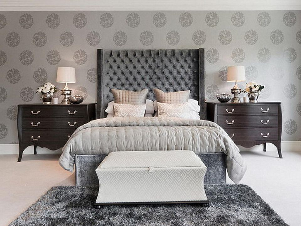 Gorgeous Gray And White Bedrooms: Beautiful Gray Bedrooms