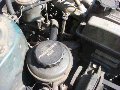 Symptoms Of Low Power Steering Fluid