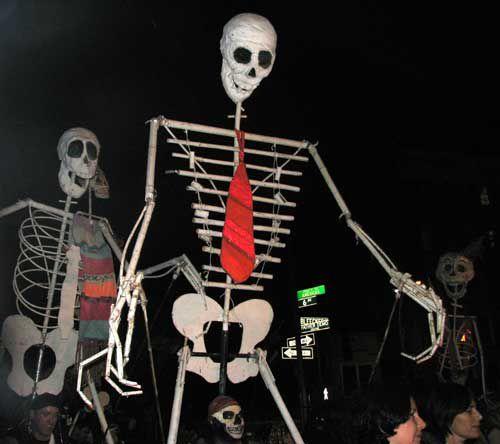 halloween parade puppet - Halloween Parade East Village