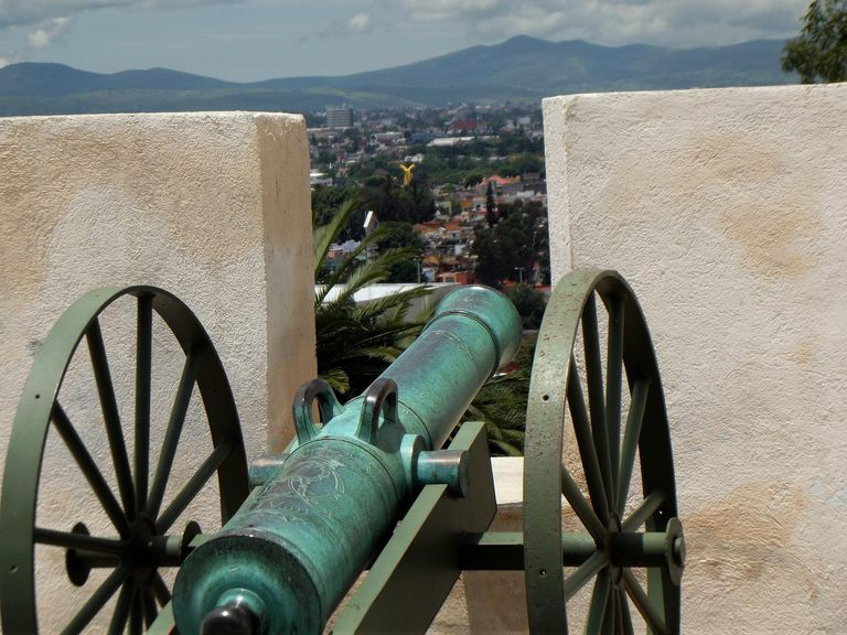 cannon at Loreto Fort