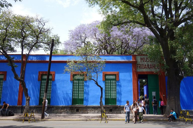 Frida Kahlo Museum, The Blue House, in Mexico City
