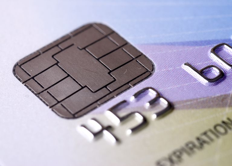 Microchip credit card