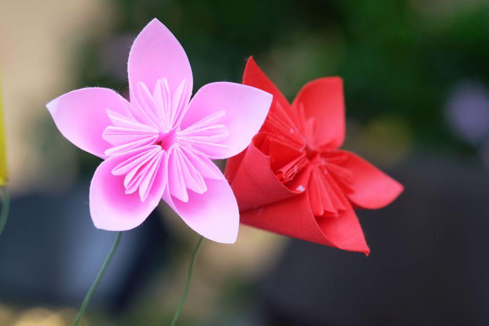 Cherry Blossom Origami