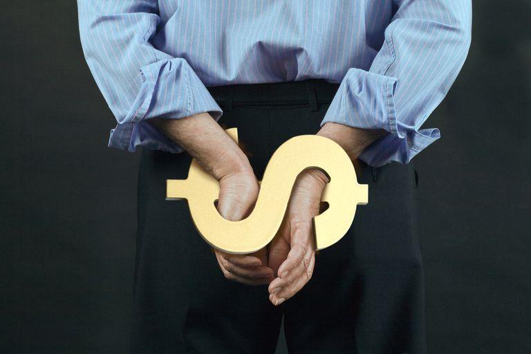 Businessman restrained by dollar debt