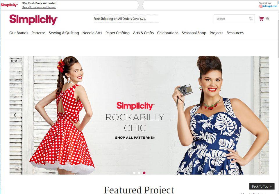 Simplicity Pattern Company