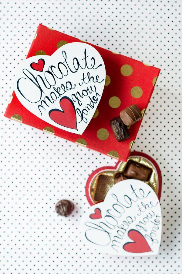 DIY Chocolate Box Makeover