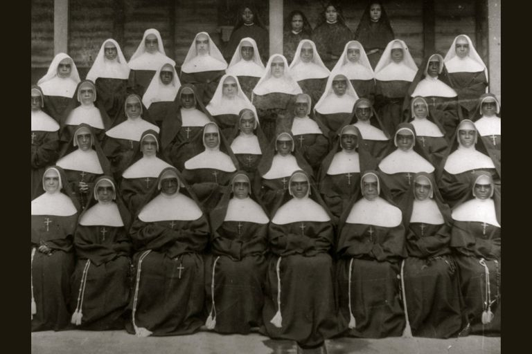 Sisters of the Holy Family, New Orleans, circa 1899