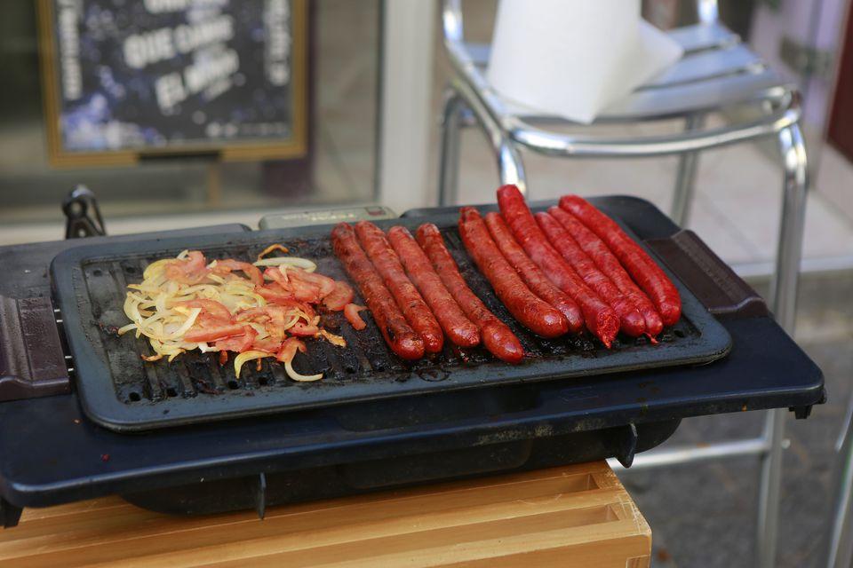 merguez-sausages