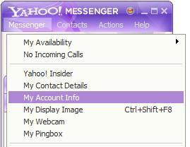 Yahoo alias