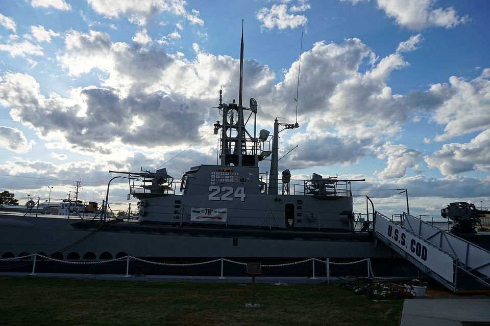 USS Cod in Cleveland