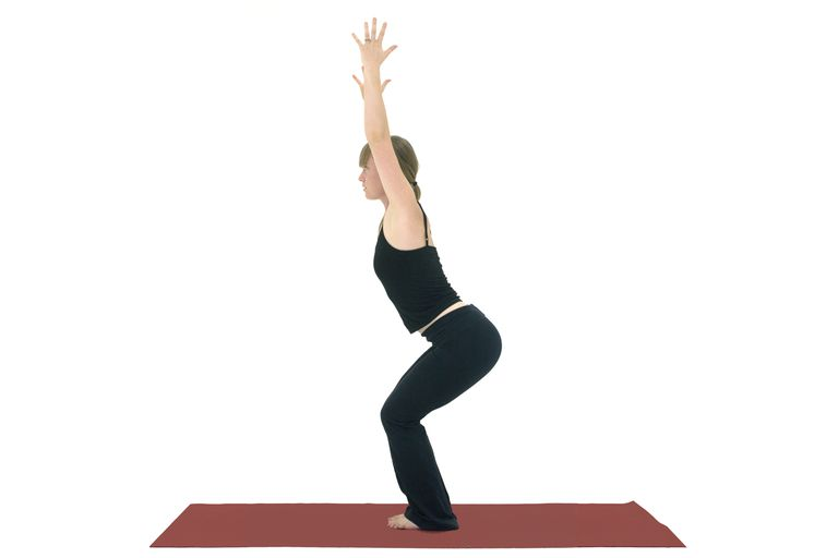 Awkward Chair Pose - Utkatasana