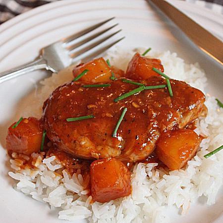 Sweet And Sour Pork Tenderloin Medallions Recipe