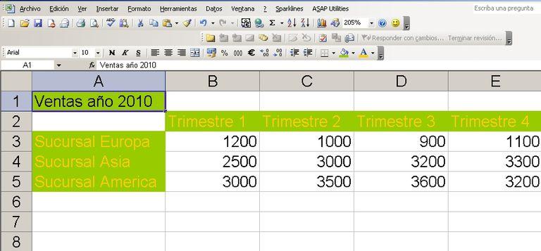 Excel función lógica SI