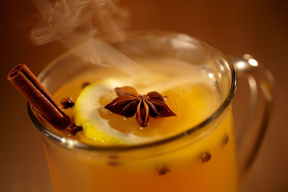 Grand Rum Toddy - Hot Rum Drinks
