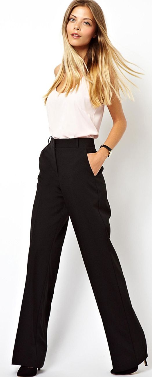 What To Wear With Wide Leg Pants The Best Shoes Amp Boots