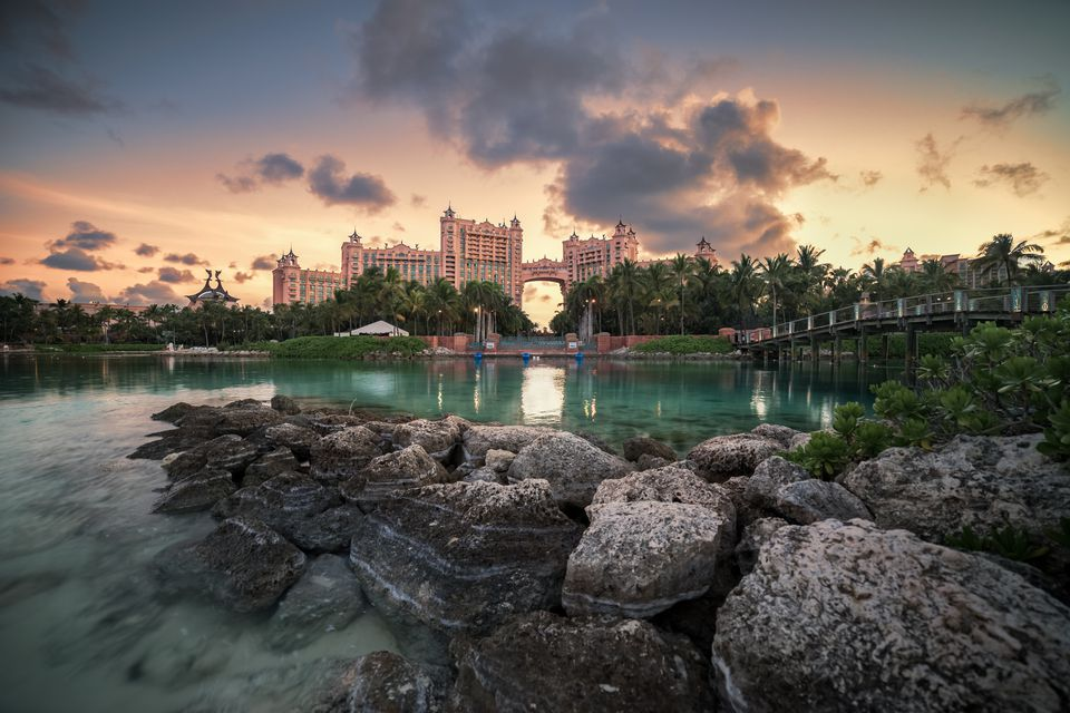 Atlantis sunset