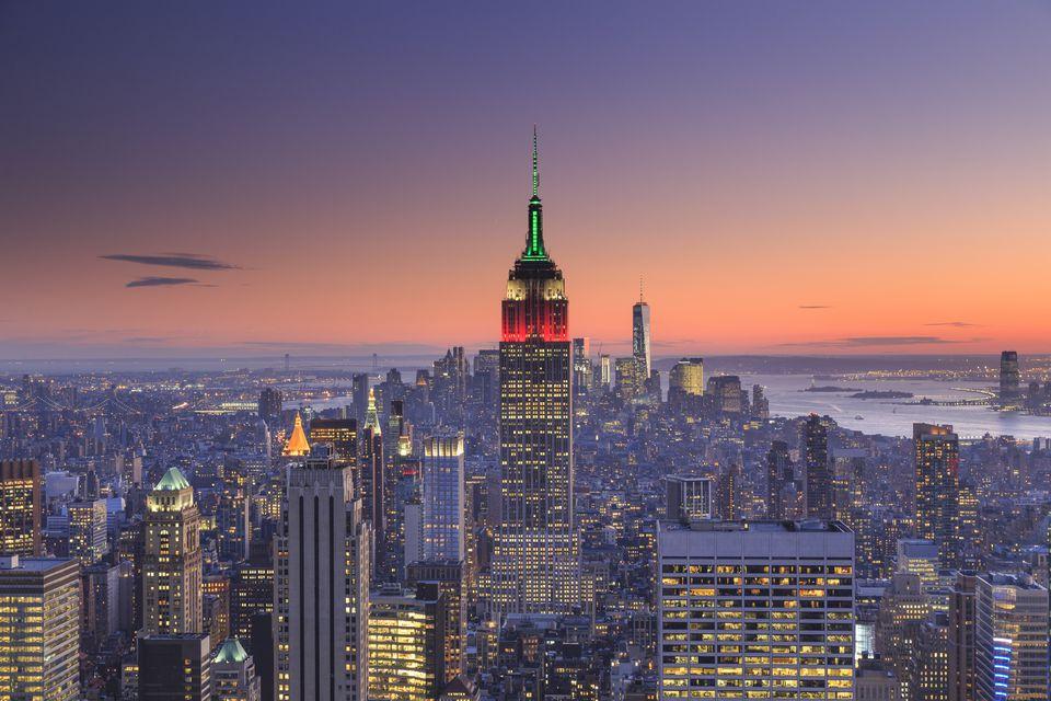 USA, New York City skyline