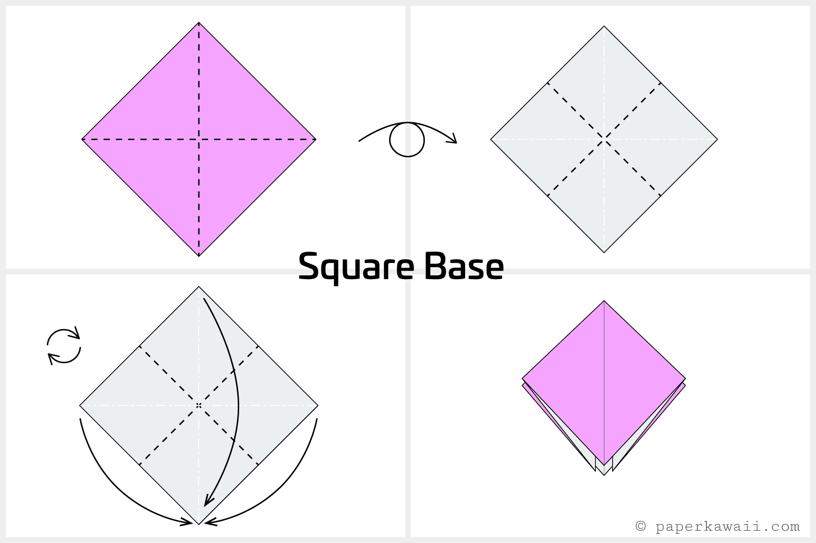 Easy origami crane instructions jeuxipadfo Image collections
