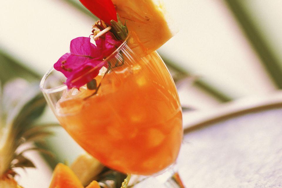 Tequila Avion's Papaya Smash Cocktail