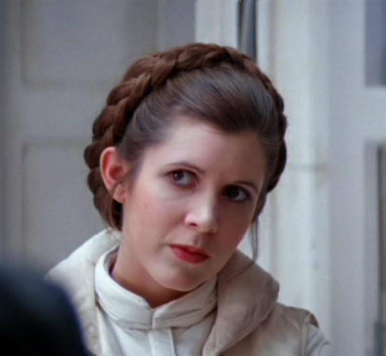 Leias Hoth Hairstyle Lucasfilm