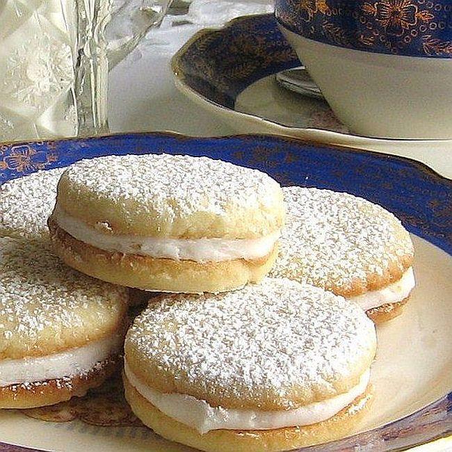 Polish Lemon Sandwich Tea Cookies Recipe