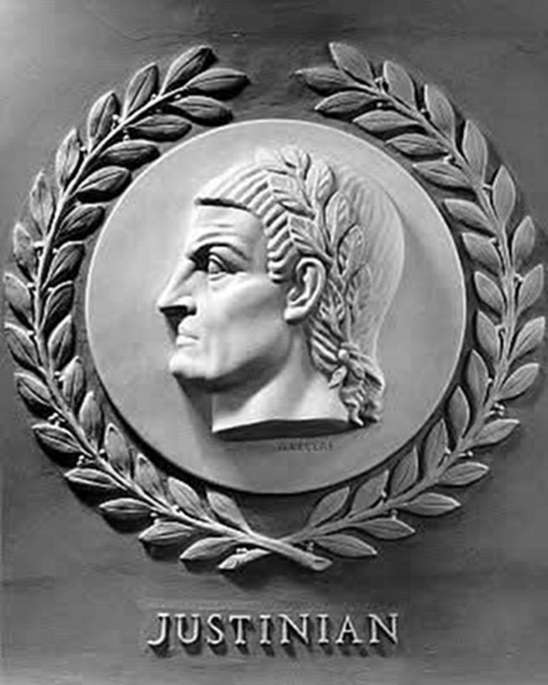 Bas-Relief of Justinian in the U.S. House of Representatives chamber