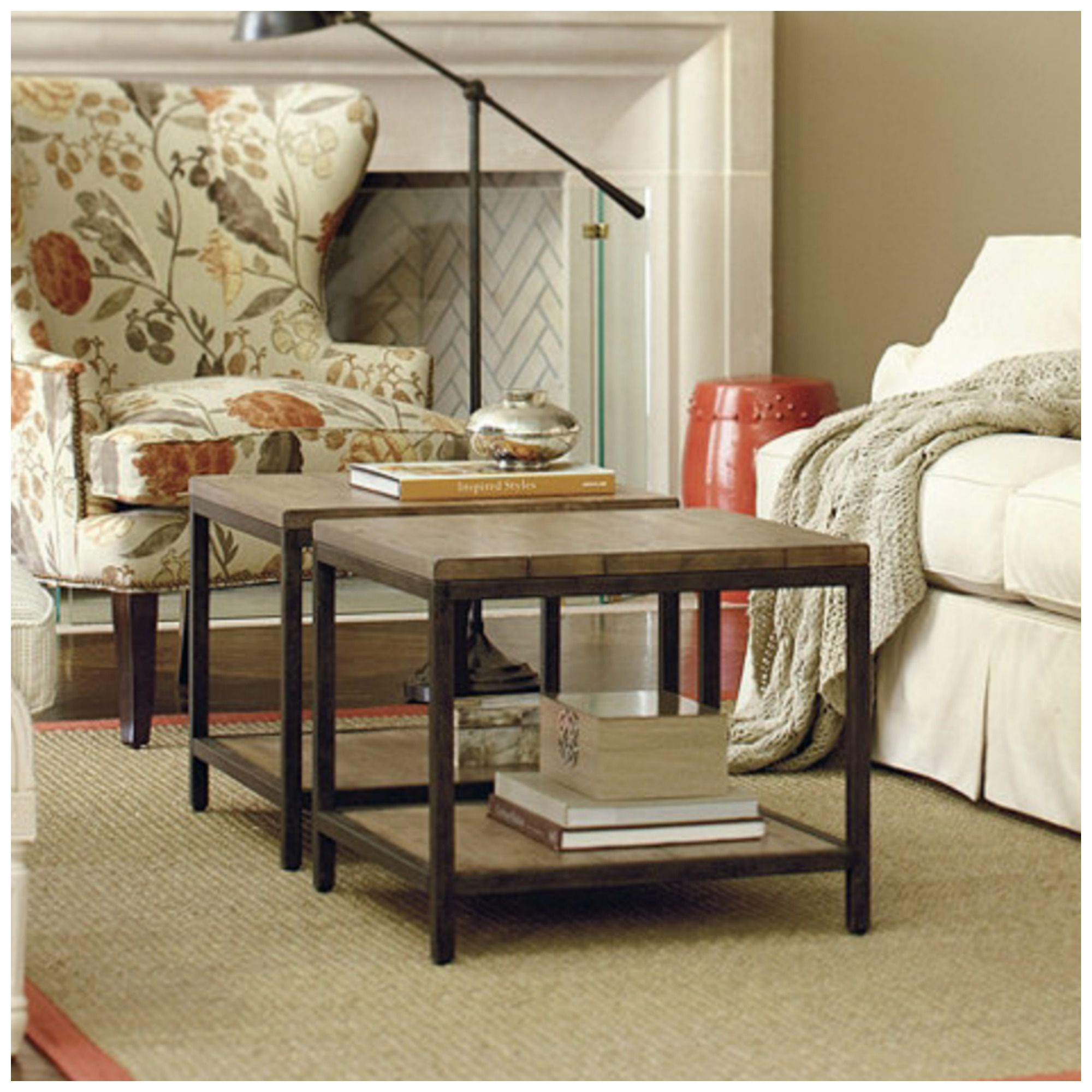 7 coffee table alternatives for small living rooms - Brickmakers coffee table living room ...