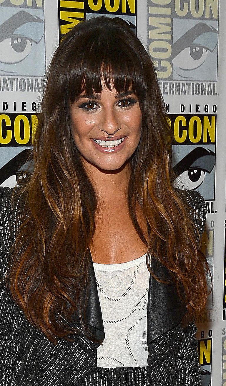 a gallery of hairstyles featuring fringe bangs