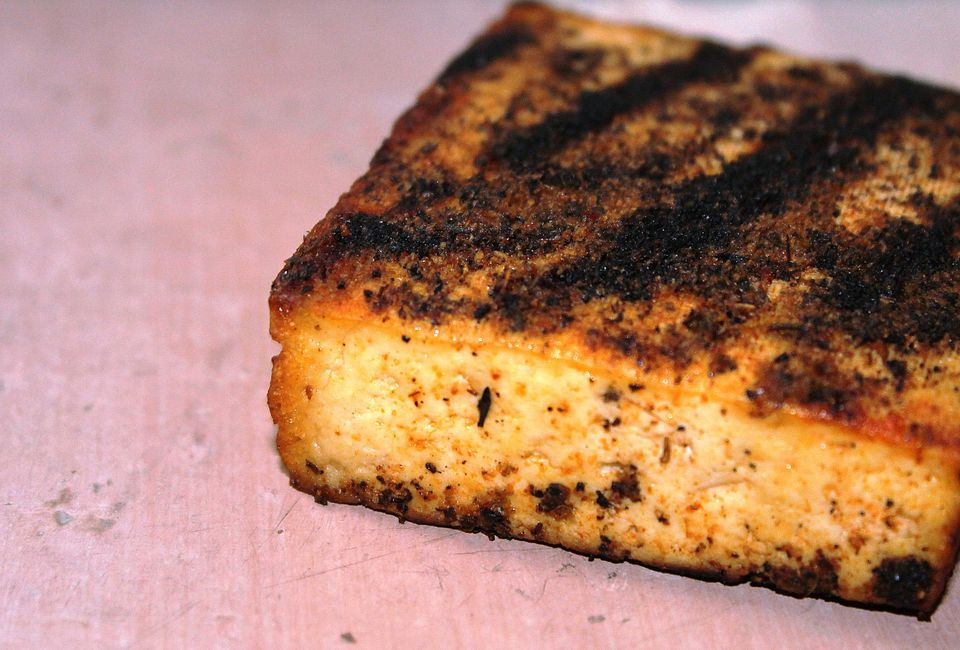 blackened tofu