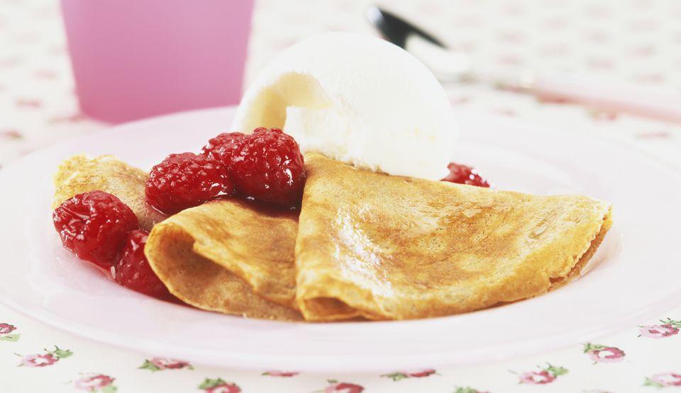 Fruity Crepes Suzette
