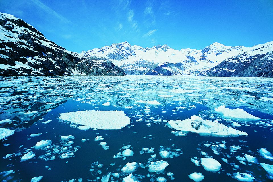 Glacier Bay National Park in Alaska