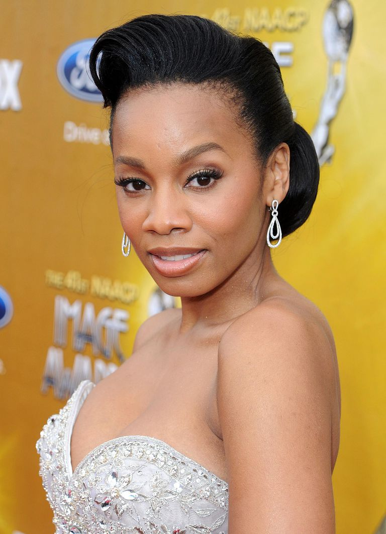 Photos of black hairstyles for prom anika noni rose urmus Image collections