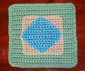 Diamond Afghan Square