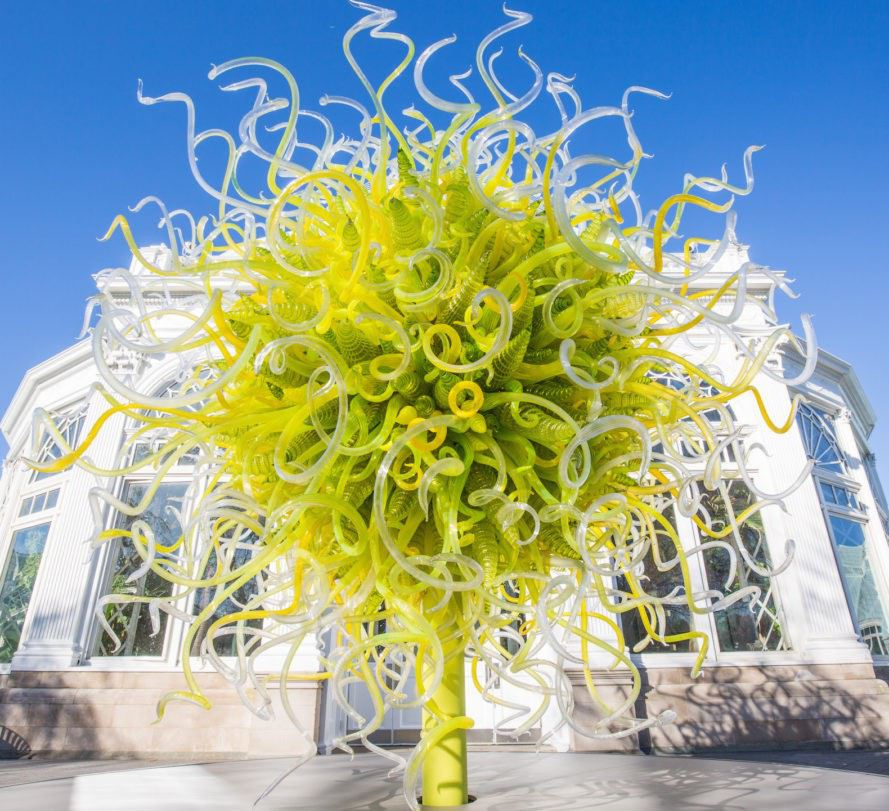 CHIHULY exhibition at NYBG